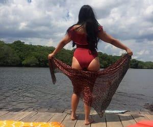 Amazon, girl, and river image