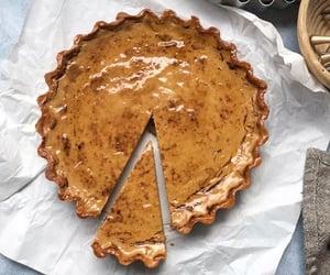 dessert, pastry, and tart image