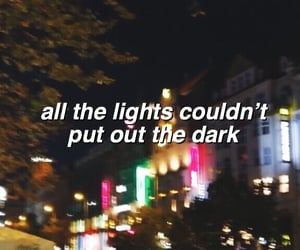 aesthetic, header, and lights image
