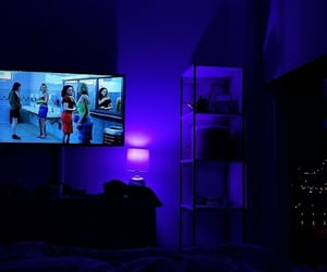 blue, home, and tv image