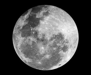 moon, overlay, and png image
