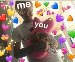 meme, love, and lil peep image