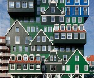 architecture, buildings, and zaandam image