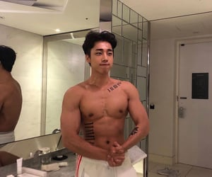 asian, sexy, and skin image