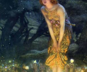 fairy, art, and painting image