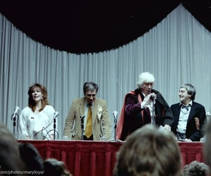 doctor who, jon pertwee, and nicholas courtney image