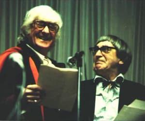 doctor who, jon pertwee, and patrick troughton image