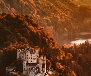 autumn, castle, and aesthetic image