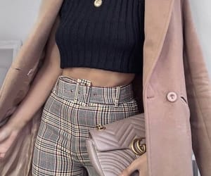 basics, girl, and casual outfit image