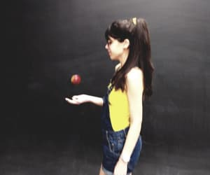 apple, fantasy, and girl image