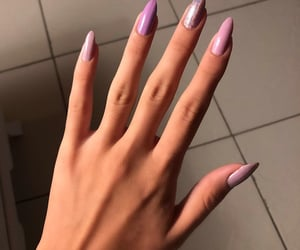 nails, girls, and cute image