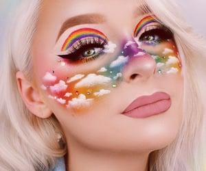 rainbow, beautiful, and lips image