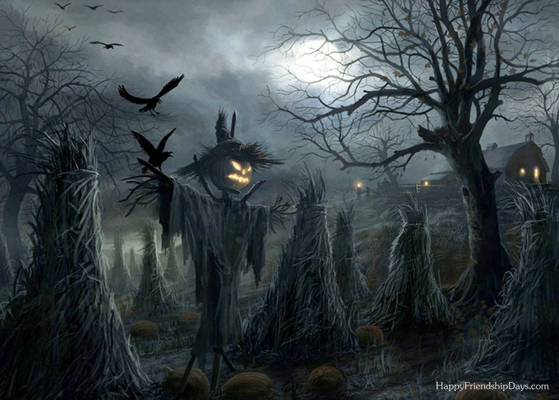article, autumn, and haunted house image