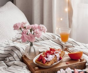flowers, food, and house image