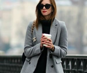 fashion, coat, and boots image