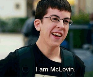 mclovin, superbad, and funny image