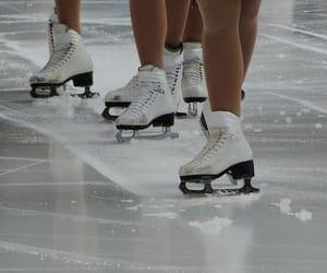 blades and ice skating image