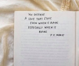 quotes, love, and rain image
