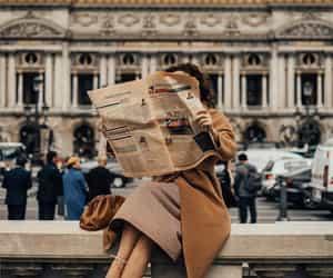 fashion, girl, and vintage image
