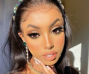 beautiful, makeup, and doll face image
