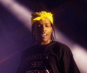 rappeur and asap rocky image