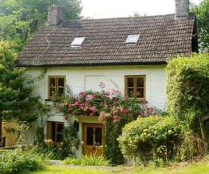 cottage, home, and soft image