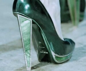 green, shoes, and emerald image
