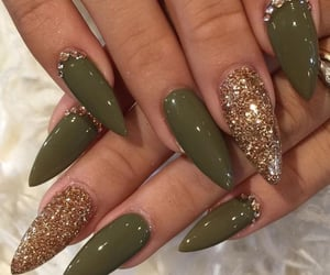 aesthetic, army, and manicure image