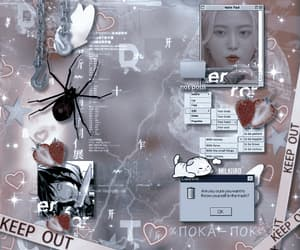 aesthetic, cyber, and dark image