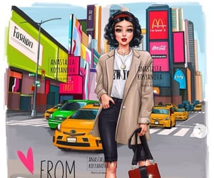 disney, new york, and princesa image