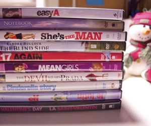movies, easy a, and mean girls image