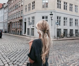 fashion, hair, and city image