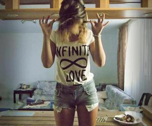 girl, infinite, and love image