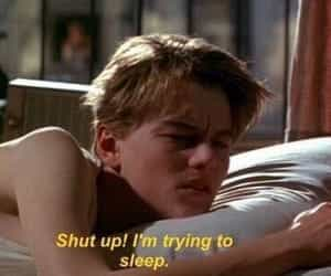 sleep, movie, and quotes image