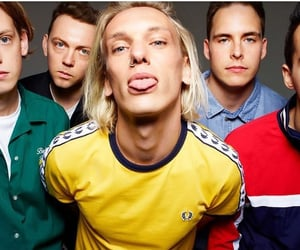 band, counterfeit, and Jamie Campbell Bower image
