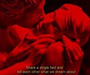 aesthetic, kiss, and Lyrics image