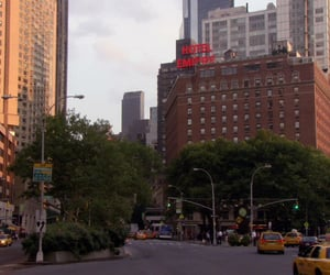 gossip girl, new york city, and television image