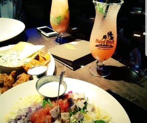 cocktail, hard rock cafe, and mixed salad image