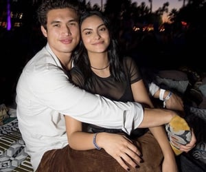 couples, charles melton, and camila mendes image