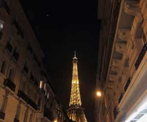 paris, paris by night, and tour eiffel image