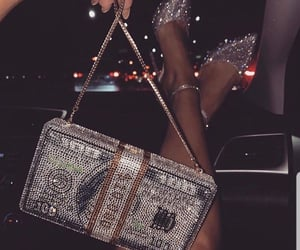 luxury, money, and shoes image