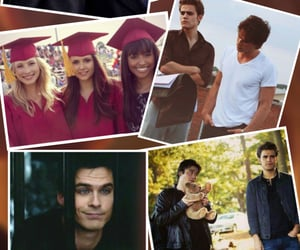 backround, damon, and Collage image