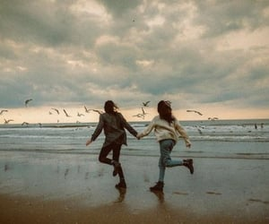 alternative, beach, and girl image