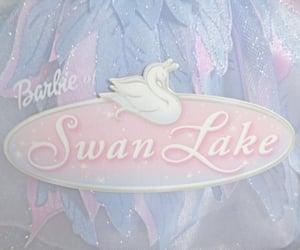 barbie, pastel, and swan lake image