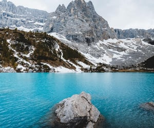 blue, blue water, and italy image