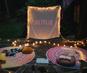 cosy, movie, and fairy lights image