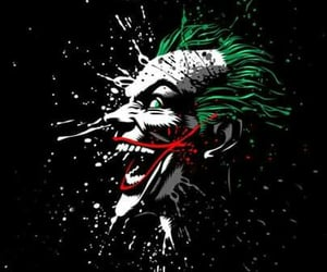 crazy, joker, and smile image