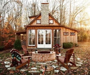autumn, house, and cozy image