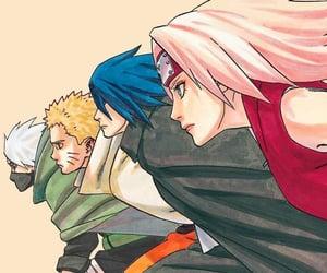 kakashi, sakura, and manga image