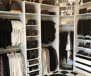 closet, designer, and fashion image